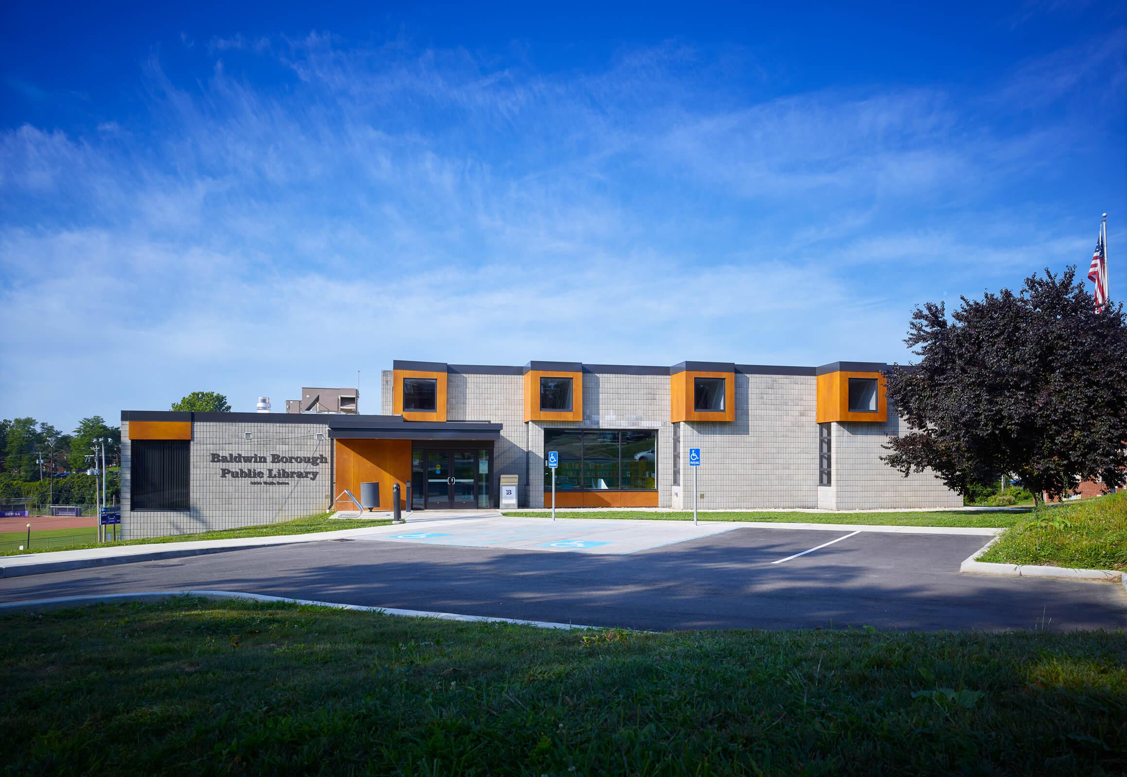 Baldwin Library exterior