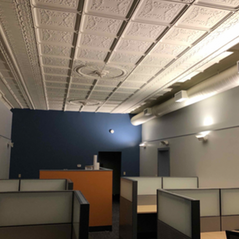 Caliber Contracting Office Renovation