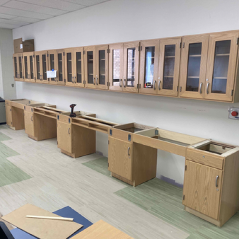 Propel Montour Science Rooms Renovation