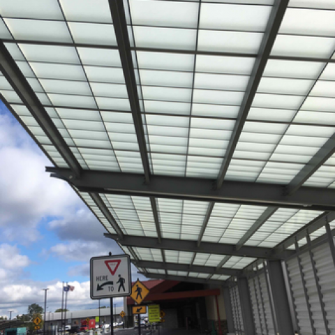 University Park Airport Canopies